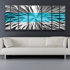 image is loading metal wall art blue modern abstract sculpture painting  on modern metal wall art ebay with metal wall art blue modern abstract sculpture painting home decor by