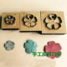 Flower Paper Punch Tool Diy Leather Craft Five Petal Flower Die Cutting Knife Mould Hand