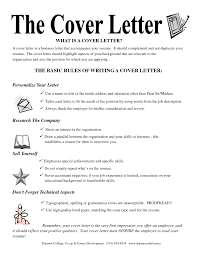 What S In A Cover Letter Cover Letter Example