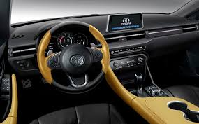 toyota supra interior. Modren Interior A Rendering Of The Interior On Toyota Supra Interior
