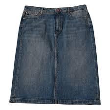 Tommy Hilfiger Skirt Size Chart Mid Length Skirt Tommy Hilfiger Blue Size 12 Us In Denim