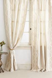 office curtain ideas. Appliqued Lace Curtain - Anthropologie.com If I Had A Million Dollars Office Ideas