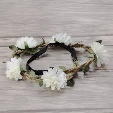 <b>M MISM 1PC</b> New Bride Bohemian Flower Headband Festival ...
