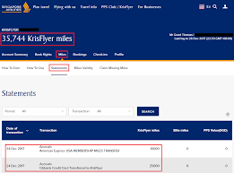 Sia Redemption Chart Singapore Airlines Award Booking Tip Add Redemption Nominee