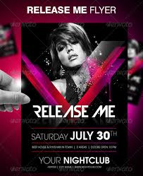 Party Flyer Impressive Party Flyers 44 Awesome Template Designs Designrfix