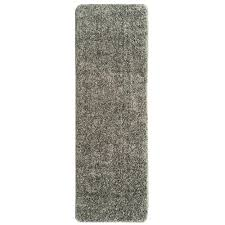 berrnour home loft collection solid design gray 2 ft x 6 ft non