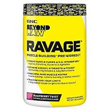 gnc beyond raw ravage raspberry twist 434 g
