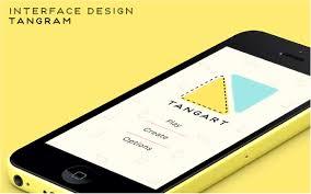 Game Interaction Design Interaction Design Tangram Mobile Game App On Scad Portfolios