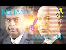 Amazon Vs Reliance - YouTube