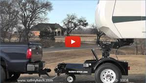 Small Picture The Automated Safety Hitch Trailer Hitch Gooseneck Horse