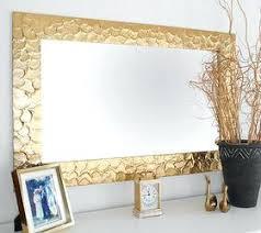 wall mirror frame diy knock off metallic mirror frame crafts home decor how to wall diy wall mirror frame ideas