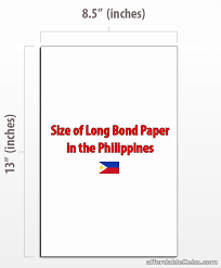 Long-bond paper in Philippines
