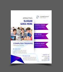 Training Flyer Computer Training Flyer On Behance