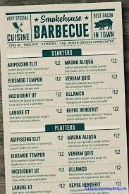 Cafe Menu Template Free Elegant Download Food Card Templates