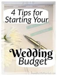 4 Exercises For Starting A Base Wedding Budget That Wont