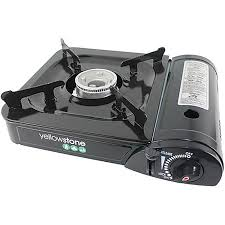 gas stove camping. Brilliant Gas 35  Hiking Camping Portable Gas Stove YELLOWSTONE Cooking And  Drinking For C