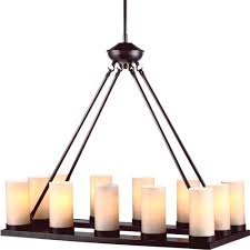 Candle Lights Home Depot Sea Gull Lighting Ellington 30 In W 12 Light Burnt Sienna Chandelier With Cafe Tint Glass
