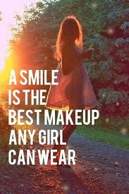 Girl Smile Best Make Up Advice Quote Tumblr40 Amazing Girls Advice Quote