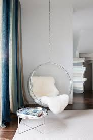 bubble chair hanging from ceiling 24 best indoor hanging chairs images on