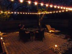 backyard string lighting ideas. the happy homebodies diy stringing patio cafe lights backyard string lighting ideas r