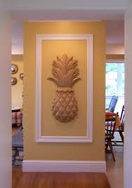 custom made large pineapple wall art