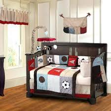sports crib sheets baby bedding cribs vintage red design home interior furniture boy teddy bear fantasy