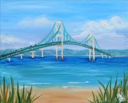 how to paint mackinac summer