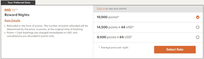 This is the best offer on this card. New Ihg Sweet Spot Dynamic Pricing 4th Night Free For Huge Savings