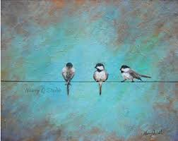 on birds on wire canvas wall art with birds on wire canvas etsy