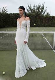 long sleeve sweetheart lace backless trumpet mermaid wedding dress