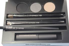 mac cinematics makeup lesson smoky black mac cinematics collection brush smokey eye makeup kits