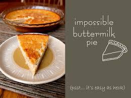 impossible ermilk pie brownie