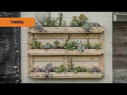 how to create a pallet garden mitre