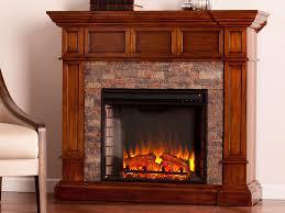 merrimack wall corner electric fireplace mantel package in buckeye oak fe9637