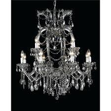 smoke crystal chandelier smoke crystal chandelier restoration hardware orb smoke crystal chandelier