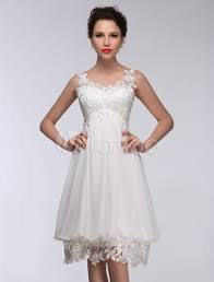 short wedding dress white lace chiffon sweetheart summer wedding