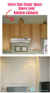 Maryland Kitchen Cabinets Gorgeous Closing The Space Above The Kitchen Cabinets Remodelando La Casa