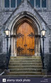 Decorating trinity doors pics : Wooden doors at entrance to Trinity Presbyterian Church, Cork ...