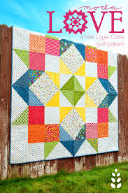 Free Quilt Pattern – Moda LOVE Layer Cake Pattern – Freedesigns.com & Moda Love Layer Cake free quilt pattern Adamdwight.com
