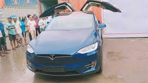 Tesla is accelerating the world's transition to sustainable energy with electric cars, solar and integrated renewable energy solutions for homes and businesses. India S First Tesla Model X 100d Lands In Mumbai Drivespark News