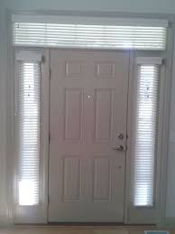 front door sidelight blindsSidelight Window Treatments  Blinds in Side Windows And Above The