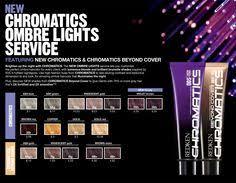 Redken Chromatics Chart 161940 Redken Chromatics Color Chart