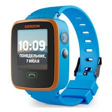 Детские <b>умные часы Geozon</b> Aqua Blue — купить в интернет ...