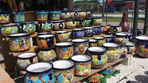 pottery large selection of blue pottery talavera pottery mexican wall art on talavera ceramic wall art with outdoor accents of florida st petersburg and tampa fl