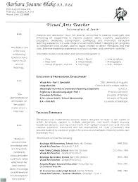 Teaching Resumes Custom Education Resume Example Socialumco