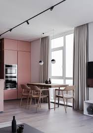Examples Of Harmony In Interior Design A Striking Example Of Interior Design Using Pink Grey
