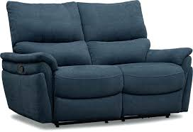 dark blue reclining loveseat navy leather recliner manual value city furniture and mattresses home improvement enchanting