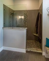 waterproofing tile shower walls beautiful this master bathroom features a walk in shower with a partial