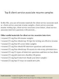 Client Service Associate Resume top10000clientserviceassociateresumesamples1006310000jpgcb=1004210000657663 2