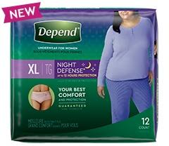 Night Defense Underwear & Maximum Overnight Protection | Depend®